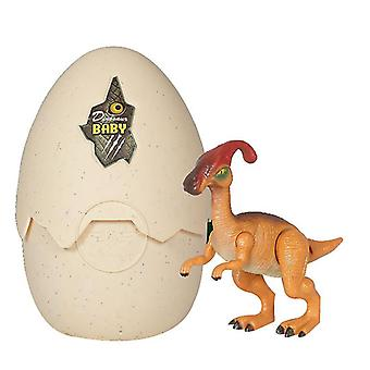 Kläckägg dinosaurieleksak, dinosaurieägg som kläcker med realistisk dinosauriehandling