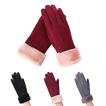 Women's Gloves with Touchscreen Technology