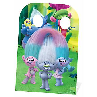 Trolls Biggie and Cooper Child Size Cardboard Cutout / Standee Stand-In
