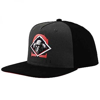 DC Comics Justice League Darkseid Patch Youth Flat Bill Snapback Hat