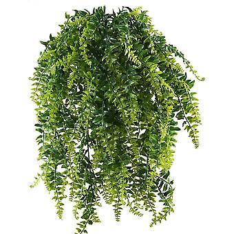 Helecho Plantas Artificiales Plantas Verdes Artificiales Plantas Plásticas Boda Jardín Decoración 2pcs