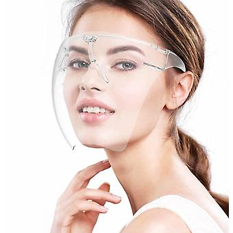 Klare Gesichtsschild Maske Googles Sonnenbrille Visor Anti-Nebel Transparente Brille Schutzbrille