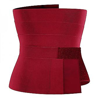 Bandage Wrap Lumbar Waist Support Belt Adjustable Comfortable Back Braces For Lower