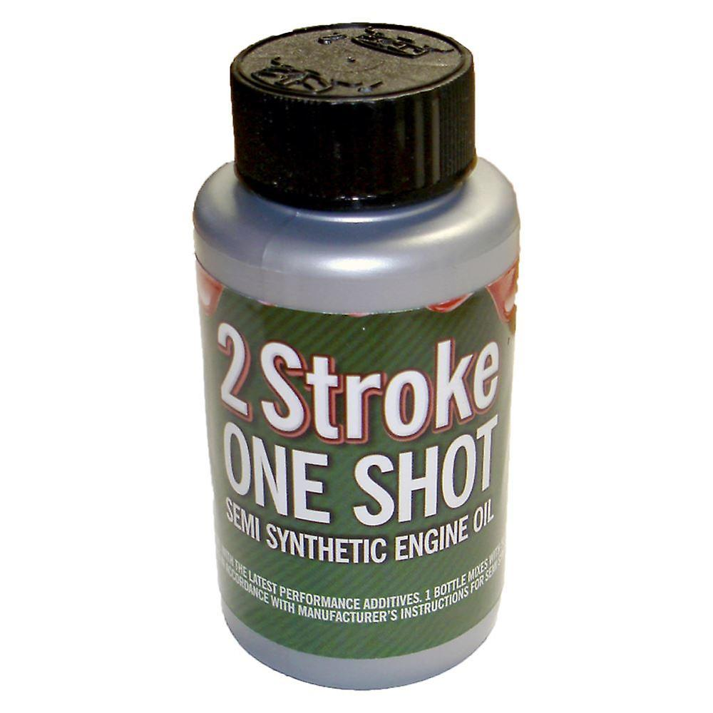 Two (2) Stroke Oil One Shot Bottle 50:1 Mix Ideal For Chainsaws