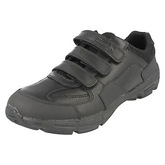 Boys Clarks Leather School Shoes Air Humber