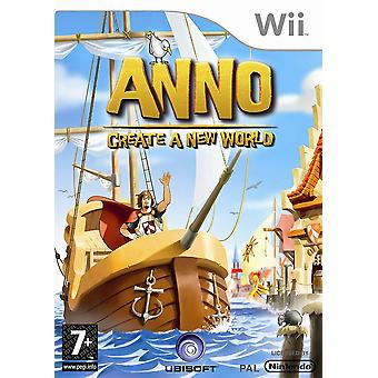 Anno maken een nieuwe wereld Nintendo Wii Game