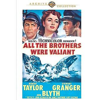 All the Brothers Were Valiant [DVD] USA import