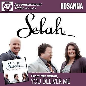 Selah - Hosanna (Accompaniment Track) [CD] USA import