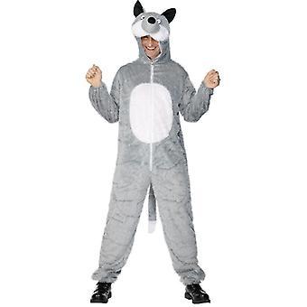 Wolf drakt Wolf Zoo karneval kostyme dyr drakt