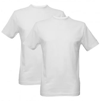 Jockey 2-Pack équipage-col classique moderne T-Shirts, blanc