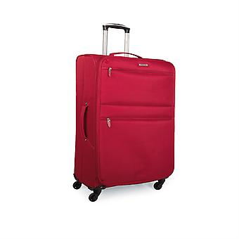 Trolley 50Cm cabin suitcase polyester. Hand luggage. Light and semi-rigid. Telescoping handle, 2 handles, 4 wheels. Ideal flights Low Cost Ryanair I52750