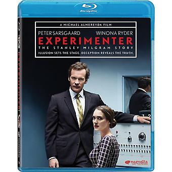 Experimenter [Blu-ray] USA import