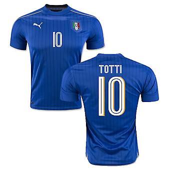 2016-2017 Italia Puma Inicio camisa (Totti 10)