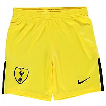 2017-2018 Tottenham Home Nike Goalkeeper Shorts (Yellow) - Kids