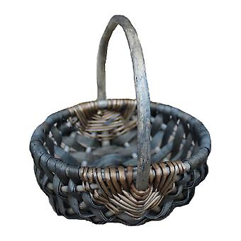 Mini Chipwood handle Basket