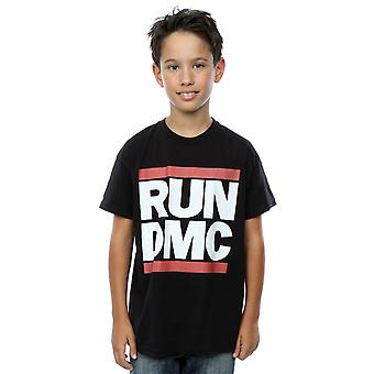 Run DMC Boys Classic Logo T-Shirt