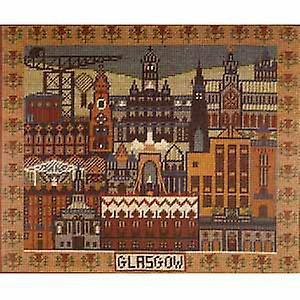 Un modèle de Glasgow Tapisserie Toile