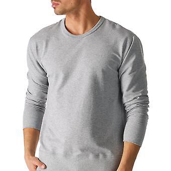 Mey 23540-620 Men's Enjoy Grey Solid Colour Pajama Pyjama Top