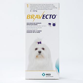 Bravecto 112mg voor zeer kleine honden 2-4kg (4.4-8,8 lbs)