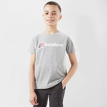New Berghaus Kids logo Lyhythihainen T-paita harmaa