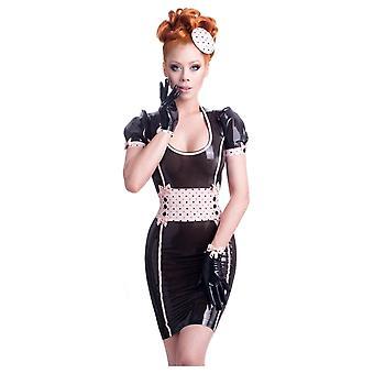 Westward Bound Restricted Latex Rubber Dress