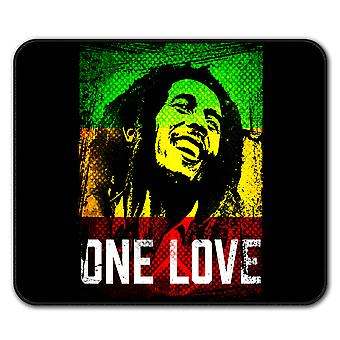 Marley One Love Pot  Non-Slip Mouse Mat Pad 24cm x 20cm | Wellcoda