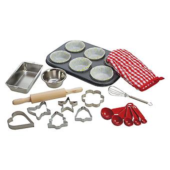 Bigjigs Toys Children's Young Chef's Baking Set Kitchen Cooking Kids Accessories