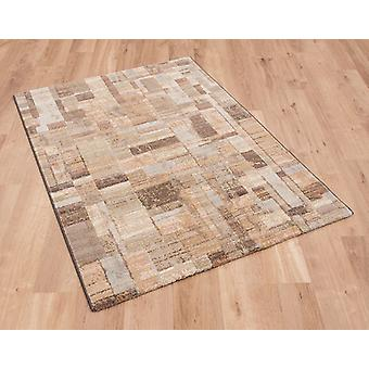 Galleria 079 0244 4848 Green Gold Blue  Rectangle Rugs Modern Rugs