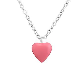 القلب-قلادات فضة 925-W37271x