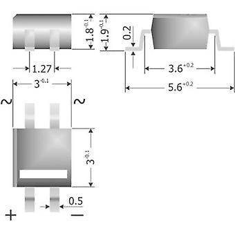 Diotec MYS40 גשר דיודות מיקרודיל 80 V 0.5 A-שלב 1