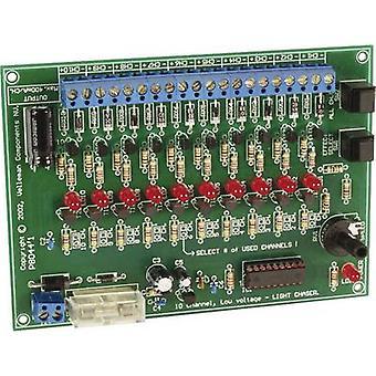 Whadda K8044 Chaser light assembly kit Version: Assembly kit 12 V DC