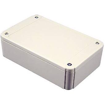 هاموند إلكترونيات RL6115-F الضميمة العالمية 80 × 60 × 40 أكريلونتريل بوتادين الستايرين رمادي أبيض (RAL 7035) 1 جهاز كمبيوتر (ق)