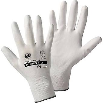 L+D Micro-PU knitted 1150 Nylon Protective glove Size (gloves): 9, L EN 388:2016 CAT II 1 Pair