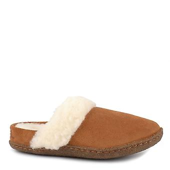Sorel Nakiska Camel Brown Suede Ii Slide Slipper