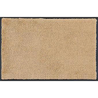 wash+dry original Sahara waschbare Fußmatte sandbeige
