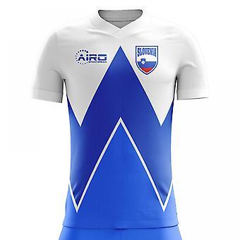 2020-2021 Szlovénia Home Concept Futball mez (Gyerekek)