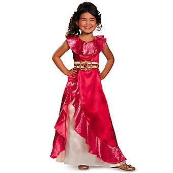 Elena Adventure Princess of  Avalor Disney Toddler Dress Up Girl Costume 3T-4T