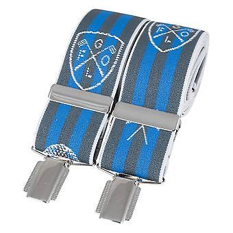 David Van Hagen Golf Braces - Grey/Blue