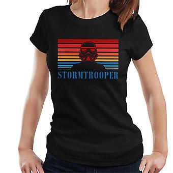 Original Stormtrooper Retro 70er Jahre Logo Damen T-Shirt