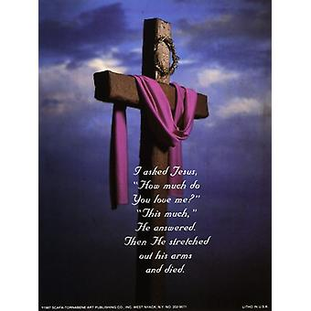 I Asked Jesus - Photo Poster Print by Edgecombe (6 x 8)