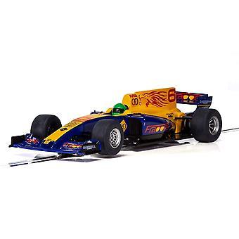 Scalextric C3960 - 1/32 blu Ali F1 Slot Car