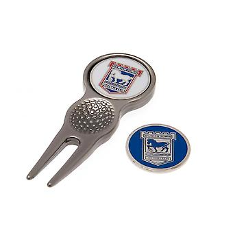 Ipswich Town FC Divot Tool And Marker