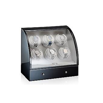 Designhütte watch winder Basel 6 black 70005-27
