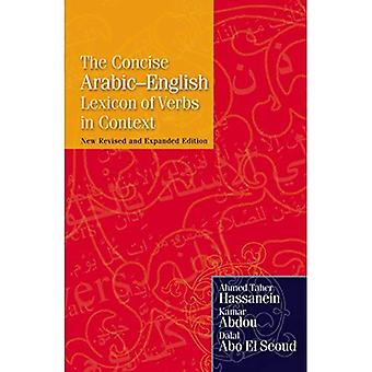 Le lexique arabe-anglais concis des verbes en contexte