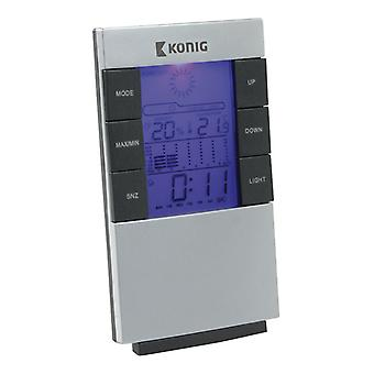 LCD weather Station with Alarm and calendar WS101N