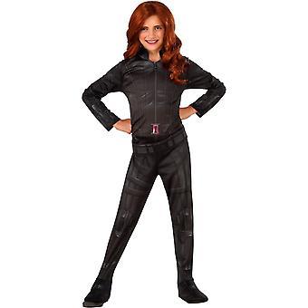 Kızlar için Black Widow Kostüm