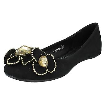 Ladies Update Slip On Flats