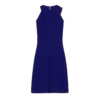 Kağıt Bebek Bayan / Bayanlar Kempsey Fırfır Ön Shift Elbise