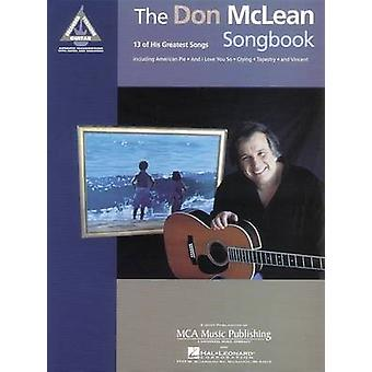 The Don Mclean Songbook by Alfred Publishing - 9780793578856 Book