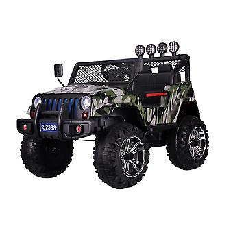 RideonToys4u 4x4 12V Electric Ride On Car With Remote Control Lights and Music